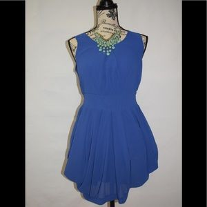 🌸2 FOR $32🌸 AKIRA Red Label Chico Blue Dress S
